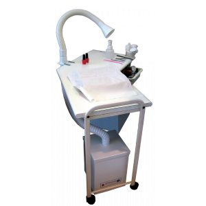 Nail Dust Filtration and Fume Extraction