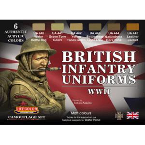 LifeColor British Uniforms WWII set