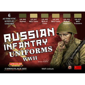 LifeColor Russian Uniforms WWII Set