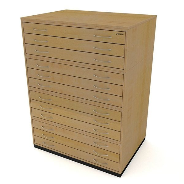 12 Drawer Plan Chest