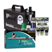 Iwata Scale Model Airbrush Kit with Smart Jet Pro Compressor