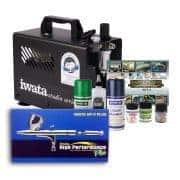 Iwata Modeller airbrush kit with Smart Jet Pro compressor