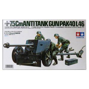 35047 German 75mm Anti Tank Gun