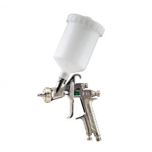 W400WBX - HIGH TEC SPRAY GUN, WBX AIR CAP, COMPLETE WITH 600ML POT