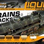 LifeColor Liquid Pigment Trains & Tracks