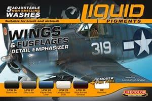 LifeColor Liquid Pigment Wings & Fuselage