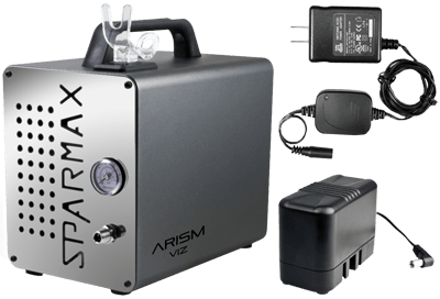 Sparmax ARISM Viz Compressor with Battery and Charger