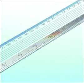 1000mm Acrylic Ruler