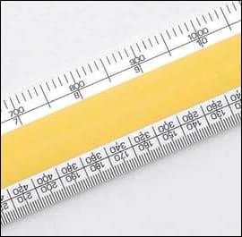 No 4 Verulam Ordnance Scale Rule  - 12 inch - 300mm approx