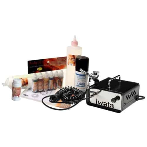 Iwata Professional Mobile Body Art Kit with Ninja Jet Compressor
