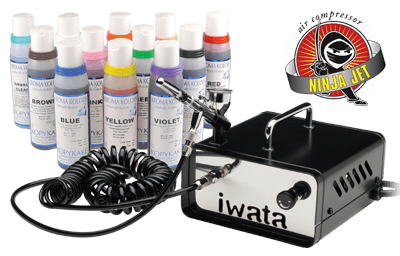 Neo for Iwata CN Gravity Feed Airbrush Graphic Air