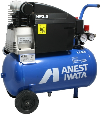 Anest Iwata Effective Air 24 Litre Tank Compressor