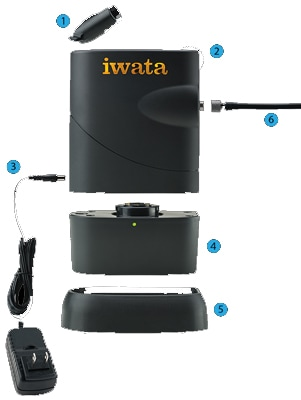 Iwata Freestyle Air Battery Powered Compressor
