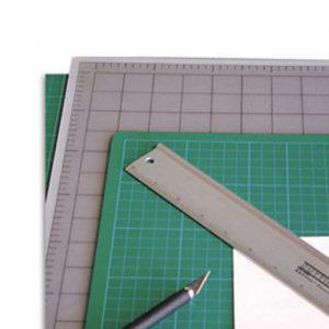 Artool Cutting Mat (22cm x 30cm) Green/Black
