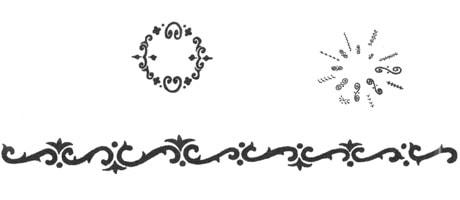 Medea Body Art Stencil Instant Henna