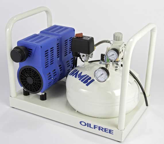 Bambi PT8 Oil Free Low Noise Compressor