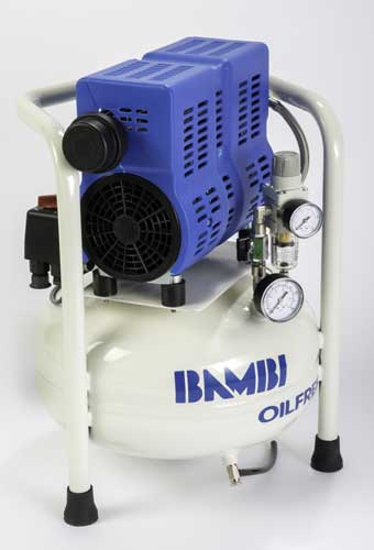 Bambi PT15 Oil Free Low Noise Compressor