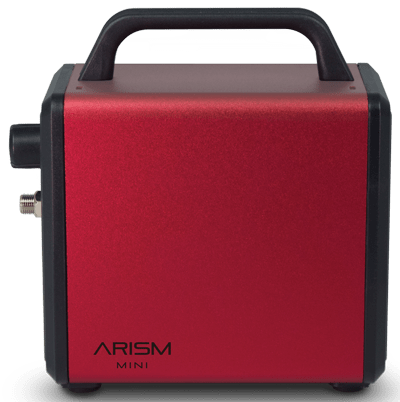 Sparmax ARISM Mini Compressor - Burgandy Red